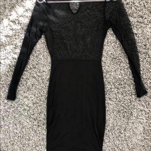 Dresses & Skirts - 🔥 mesh black midi dress 🔥